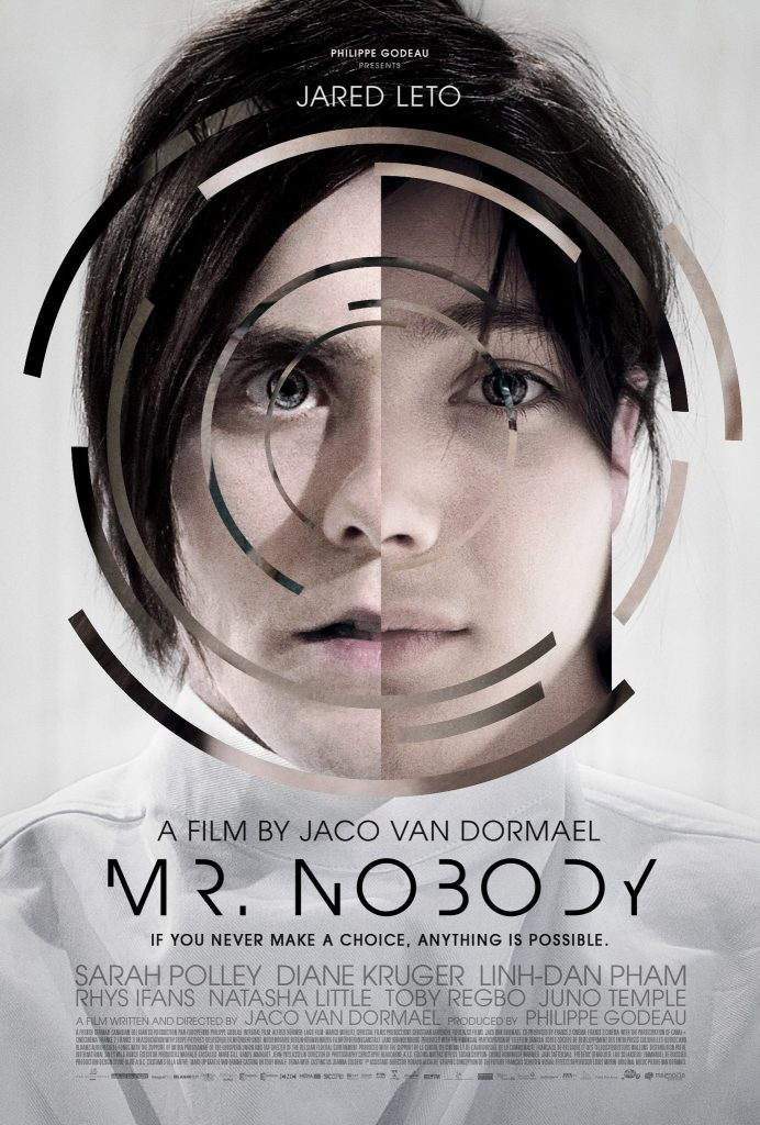 Mr Nobody movie poster.