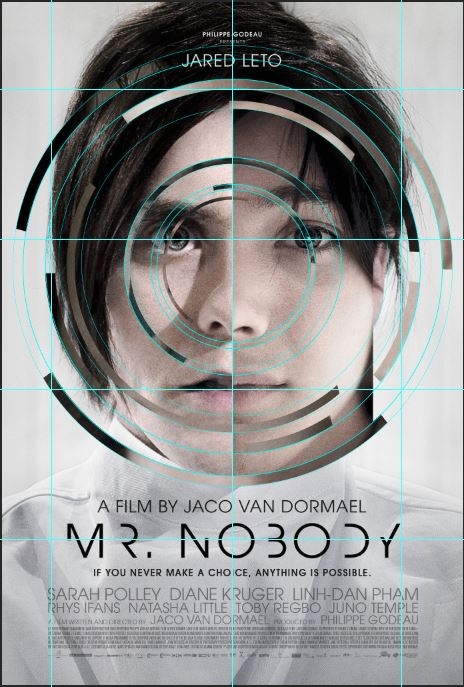 Mr Nobody poster structure.