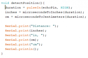 Detect Position function